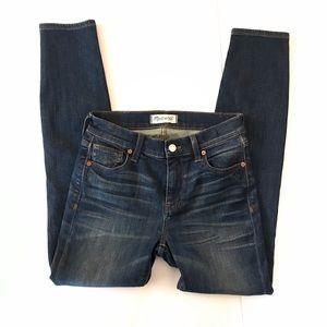 Madewell High Riser Skinny Jeans 26 Hi Rise